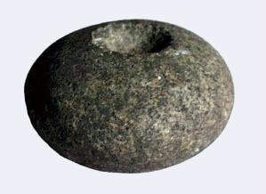 Small 10th Century Hand-Quern from the Excavations at Fröjel, Sweden